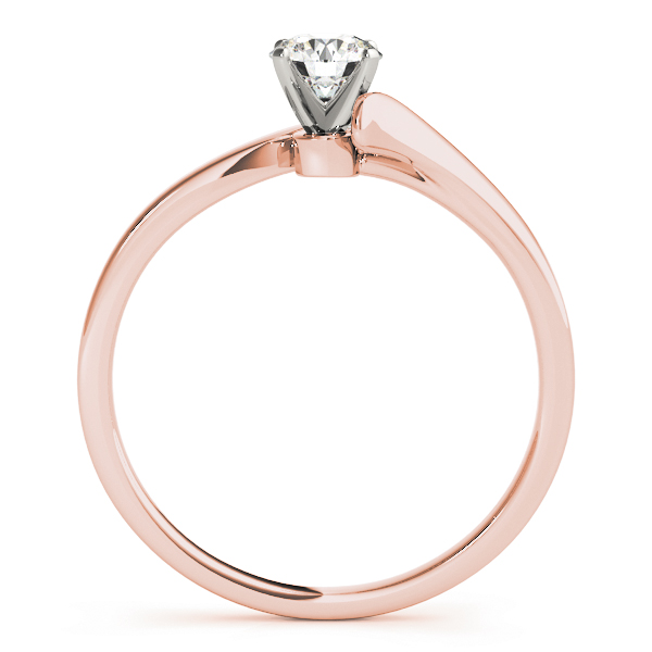 2 Diamond Bridal Set Rose Gold