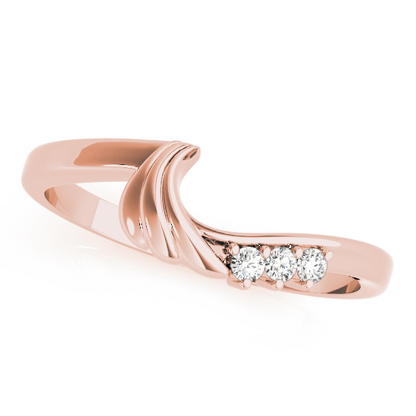 Angel 4 Diamond Bridal Set Rose Gold