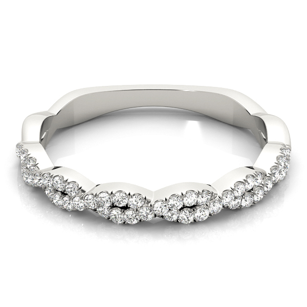 Infinity Diamond Stackable Ring