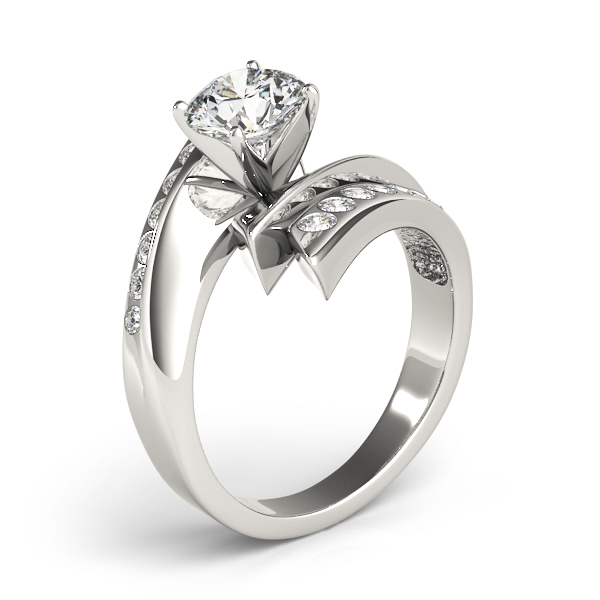 Flash inspired Diamond Engagement Ring
