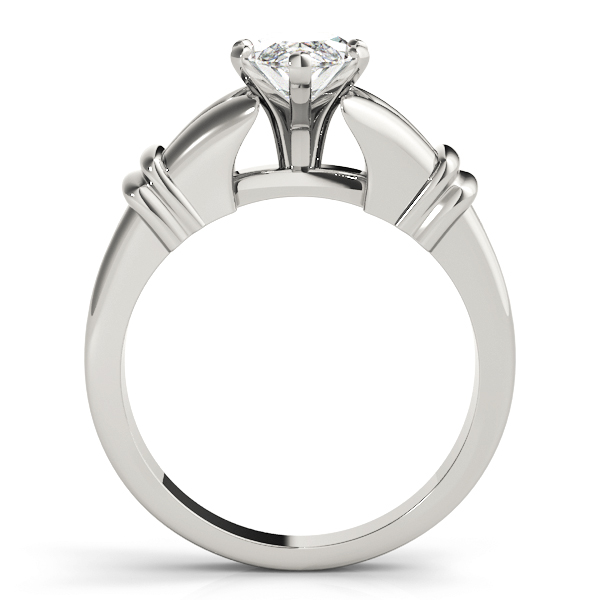 Marquise Diamond Split Band Solitaire Engagement Ring