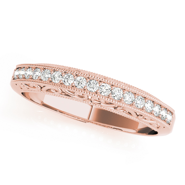 Filigree Wedding Bands From Mdc Diamonds