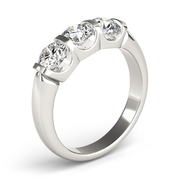 Three Stone Anniversary Ring