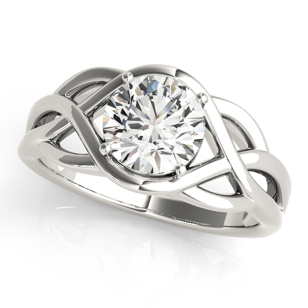 Celtic Knot Engagement Ring