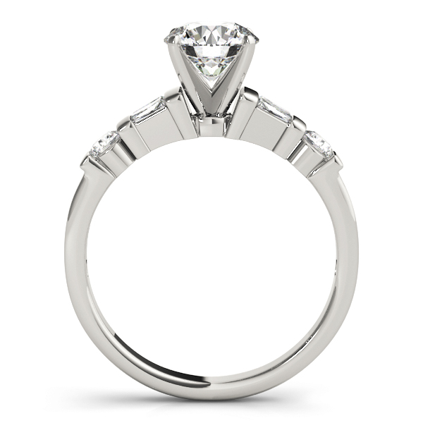 Classic Baguette & Round Diamond Ring