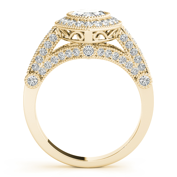 Marquise Legacy Vintage Engagement Ring Yellow Gold