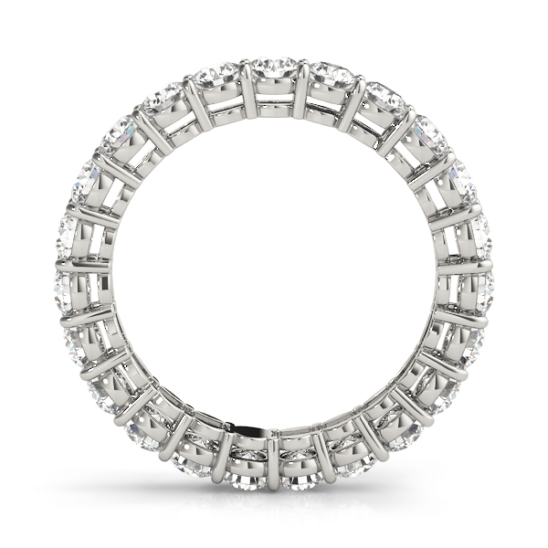 Round Diamond Eternity Band 4.25 Ct Platinum