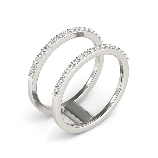 Abstract Petite Parallel Diamond Bands