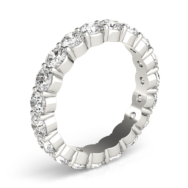 Round Diamond Eternity Band 1.25 Carat