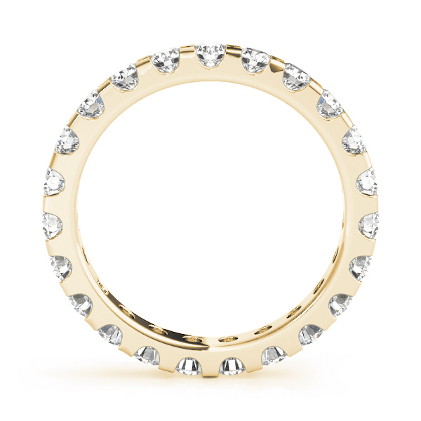Diamond Eternity Band 2.85 Ct Yellow Gold