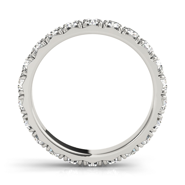 Round Diamond Eternity Band 2.1 Ct Platinum