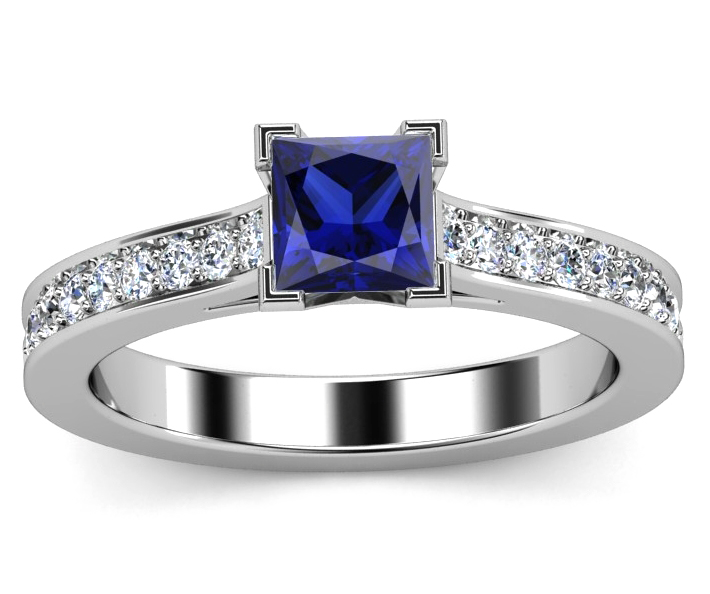 blue sapphire european engagement rings from mdc