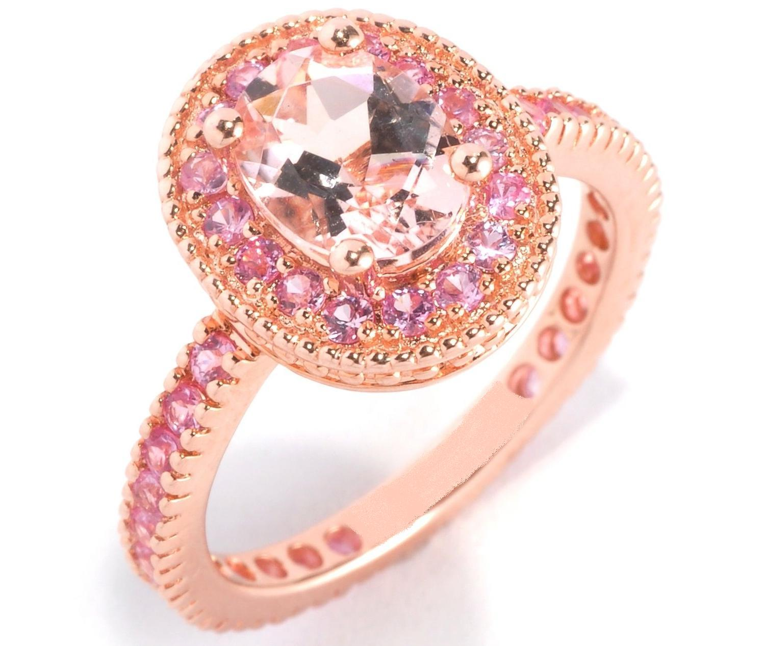 Morganite - European Engagement Rings from MDC Diamonds NYC