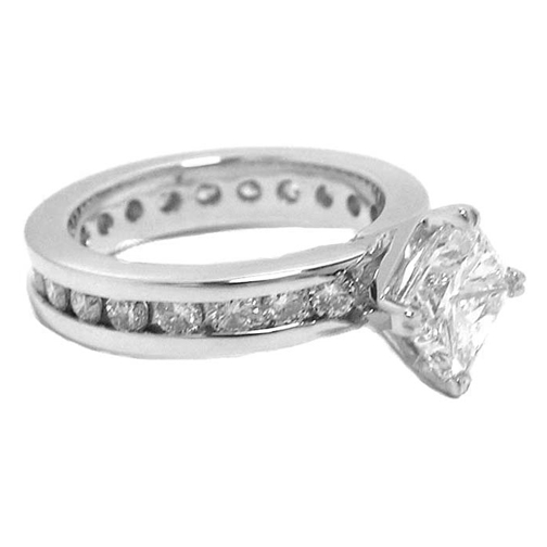 Princess Eternity Diamond Engagement Ring 1.15 tcw.