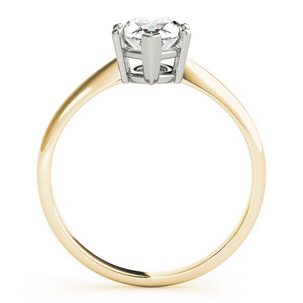 Classic Solitaire Marquise Engagement Ring Yellow Gold