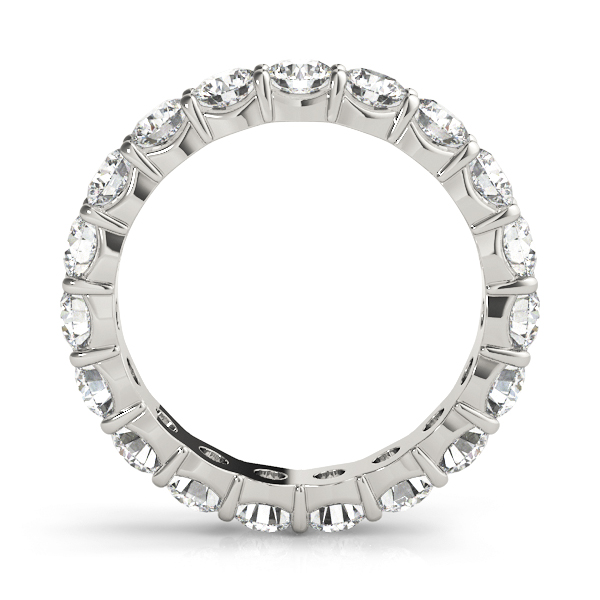 Round Diamond Eternity Band 5.6 Ct Platinum