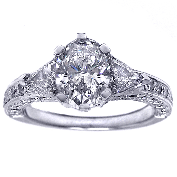 ntique engagement ring