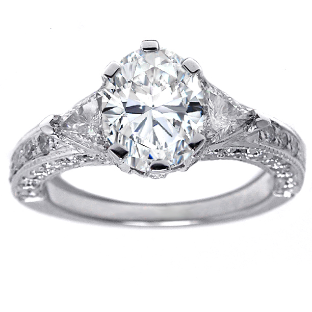 Vintage Engagement Rings  on Vintage   Engagement Rings From Mdc Diamonds Nyc