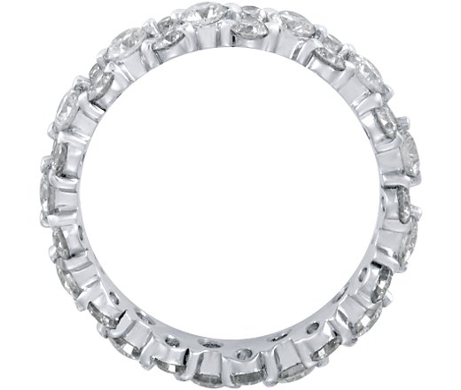 Garland Diamond Eternity Ring 1.27 TCW in 14K White Gold