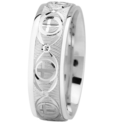Religious Men Wedding Band
