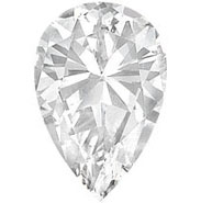 Pear Shaped Diamond Diamond